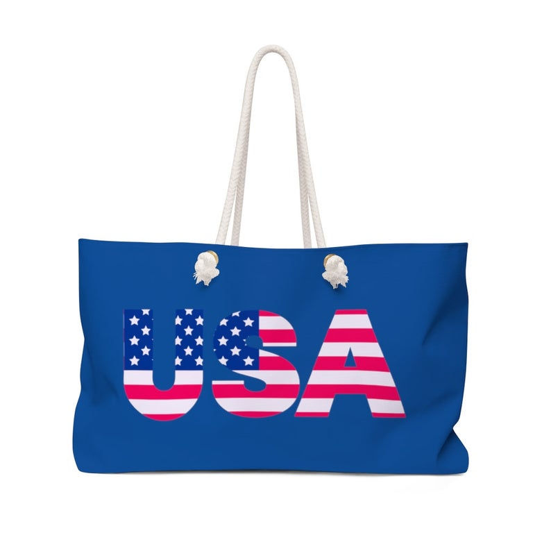 America Beach Bag - Independence Day Gifts for Teachers