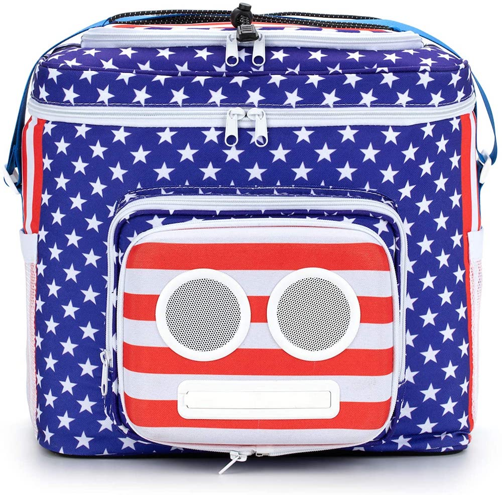 American Flag Cooler- best Independence Day gift for dad.