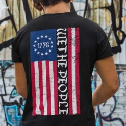 American Flag We The People 1776 Shirt