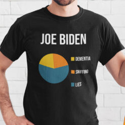 Anti Joe Biden Dementia Sniffing Lies Shirt