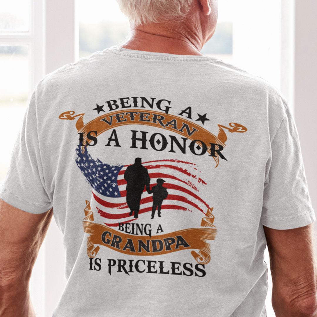 Being A Veteran is an Honor Shirt