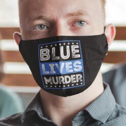 Blue Lives Murder Face Mask