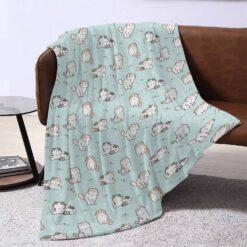 Calico Kitty Fleece Blanket