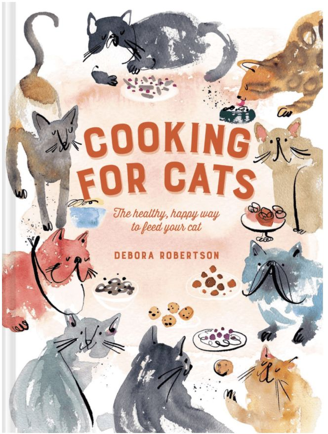 Cooking For Cats: The Healthy, Happy Way to Feed Your Cat- best cat mom gifts