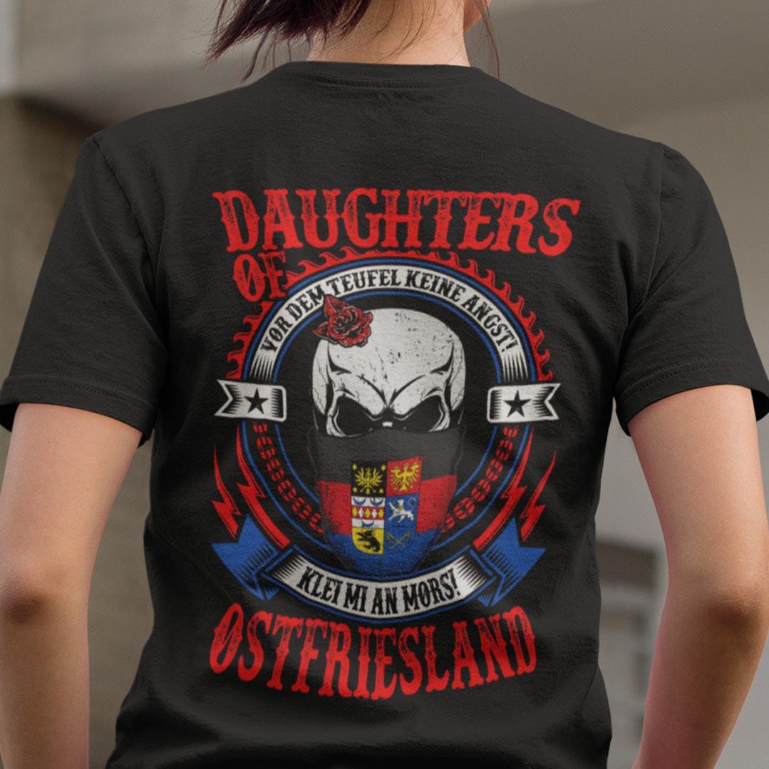Daughters Of Ostfriesland Shirt Vor Dem Teufel Keine Angst