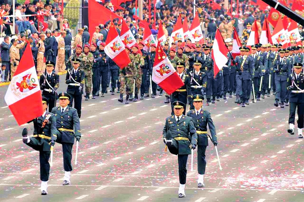 How Independence Day celebrate in Peru this year