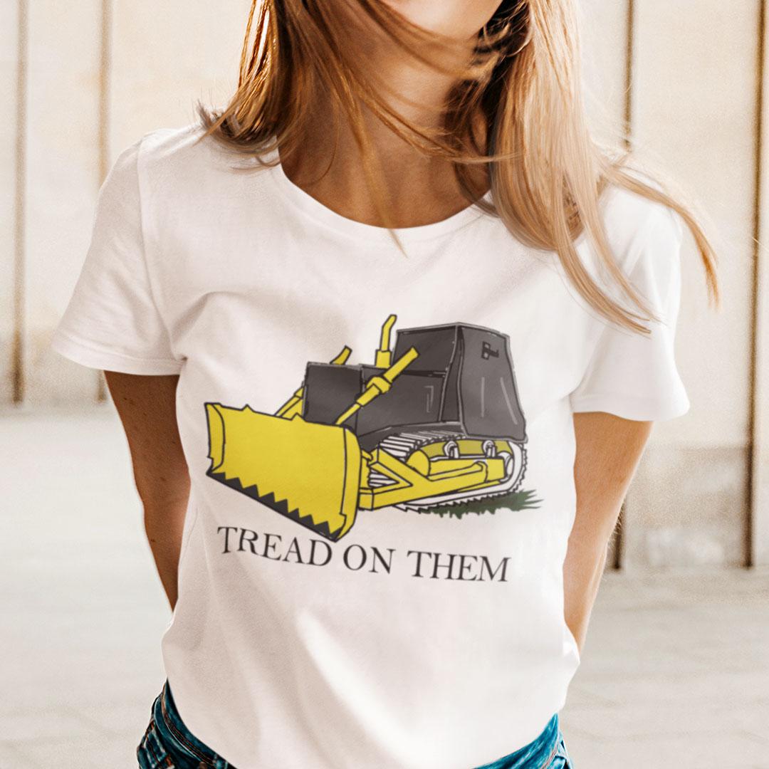 Killdozer T Shirt Tread On Them