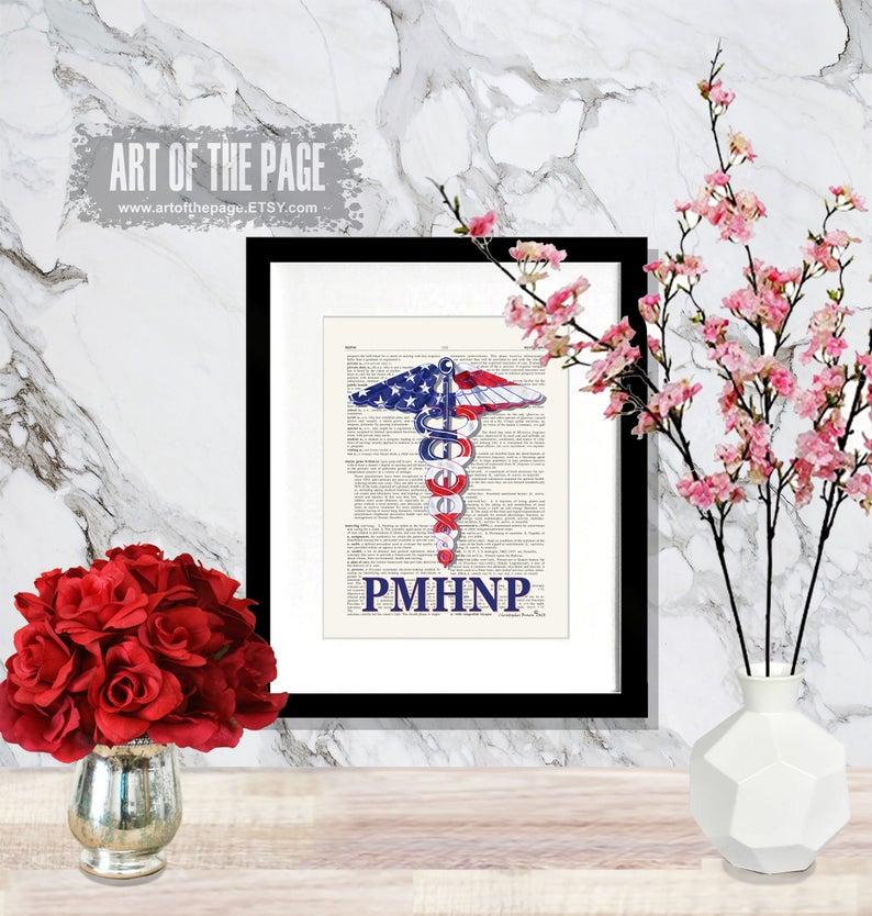 Nurse PMHNP graduation gift-best Independence Day gift for nurses