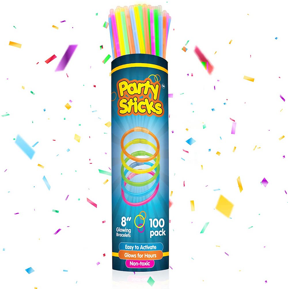 PartySticks Glow Sticks- best Independence Day gift for dad.