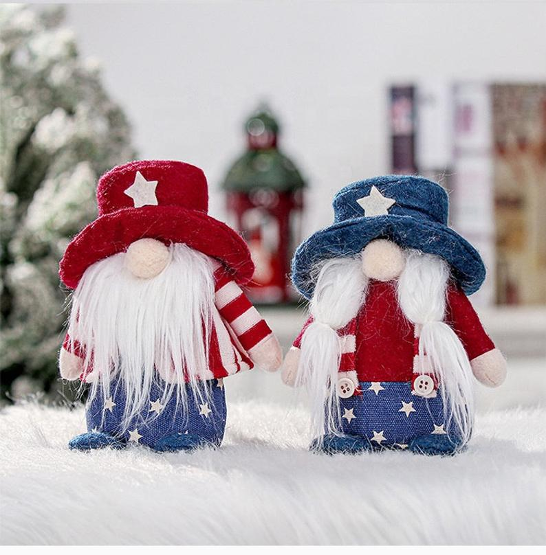 Patriotic Gnome Decor best Independence Day gift for daughter