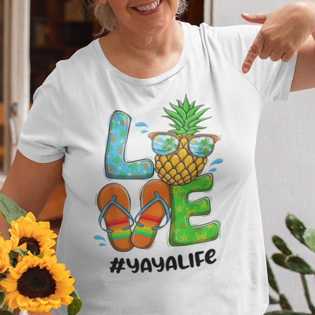 Pineapple Love Yayalife Hello Summer Shirt