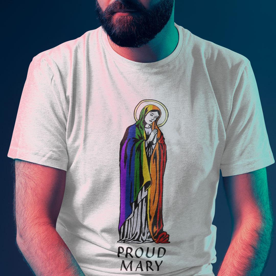Proud Mary Rainbow Flag LGBT Shirt