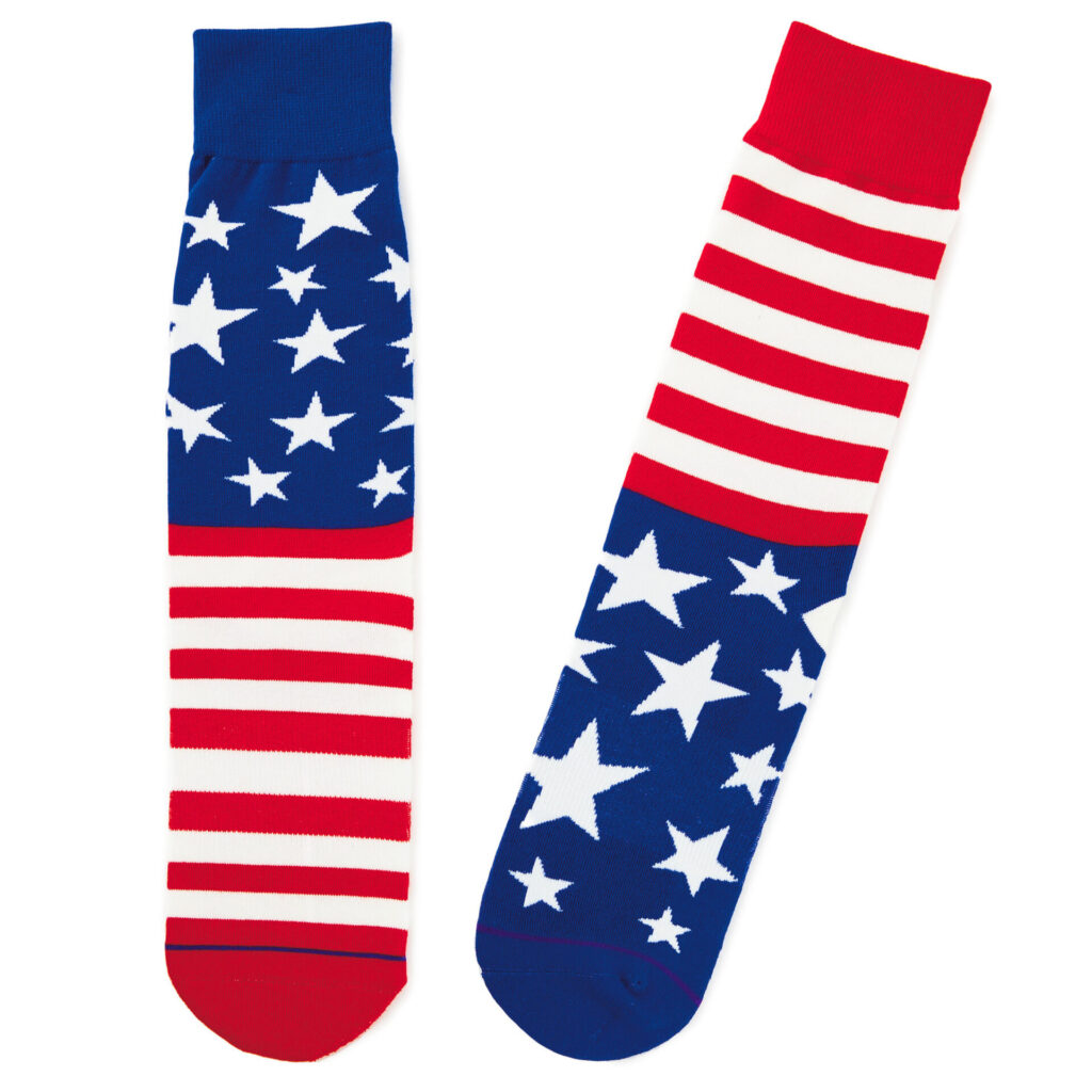 Socks best Independence Day gift for daughter