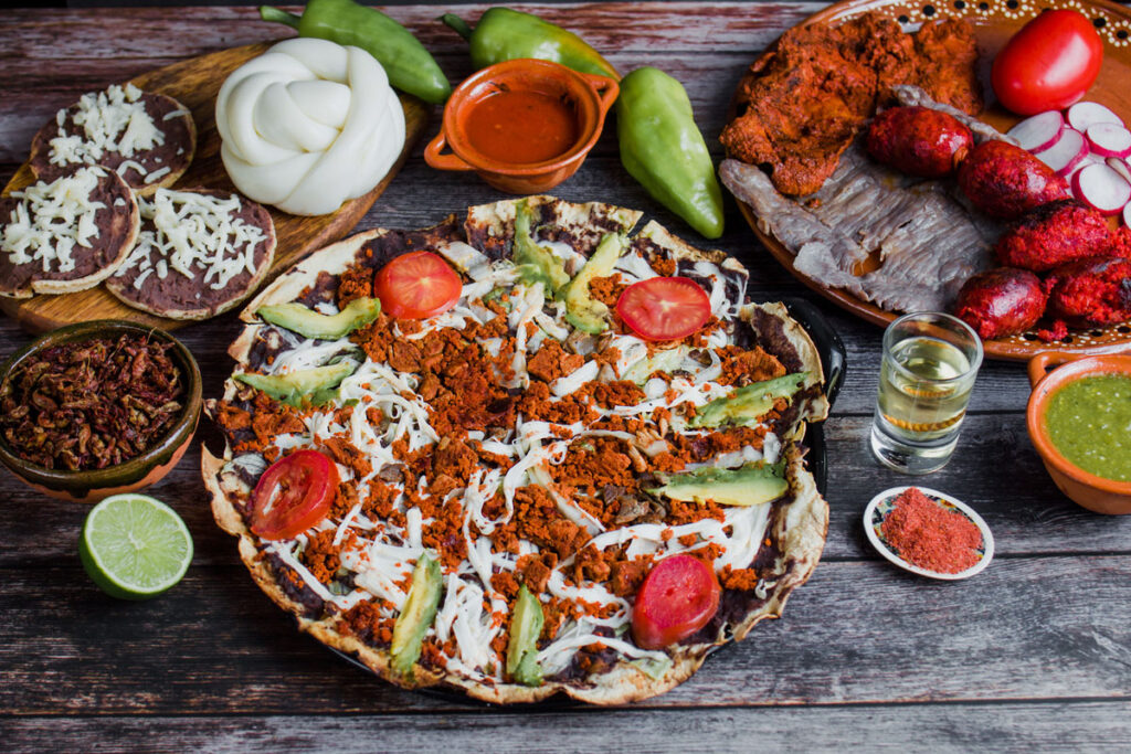 Tlayudas Mexican Independence Day Foods