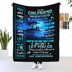 To My Girlfriend You Are My Love Blanket