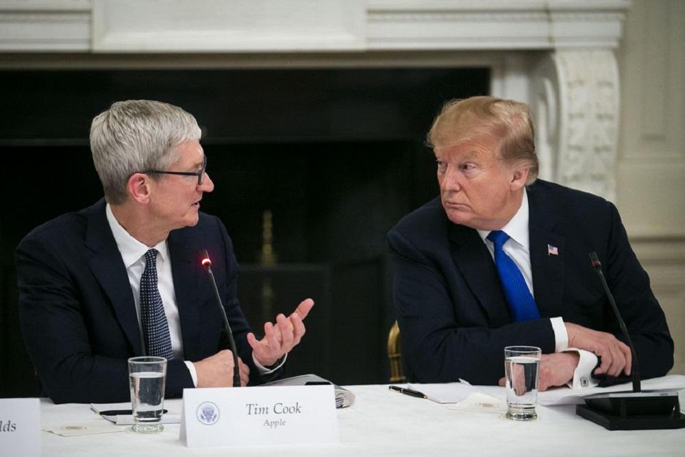 Trump officials seized Democrat's Apple data, do you know