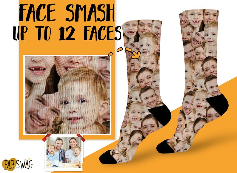 What is a good gift for parents- Face Smash Family Socks