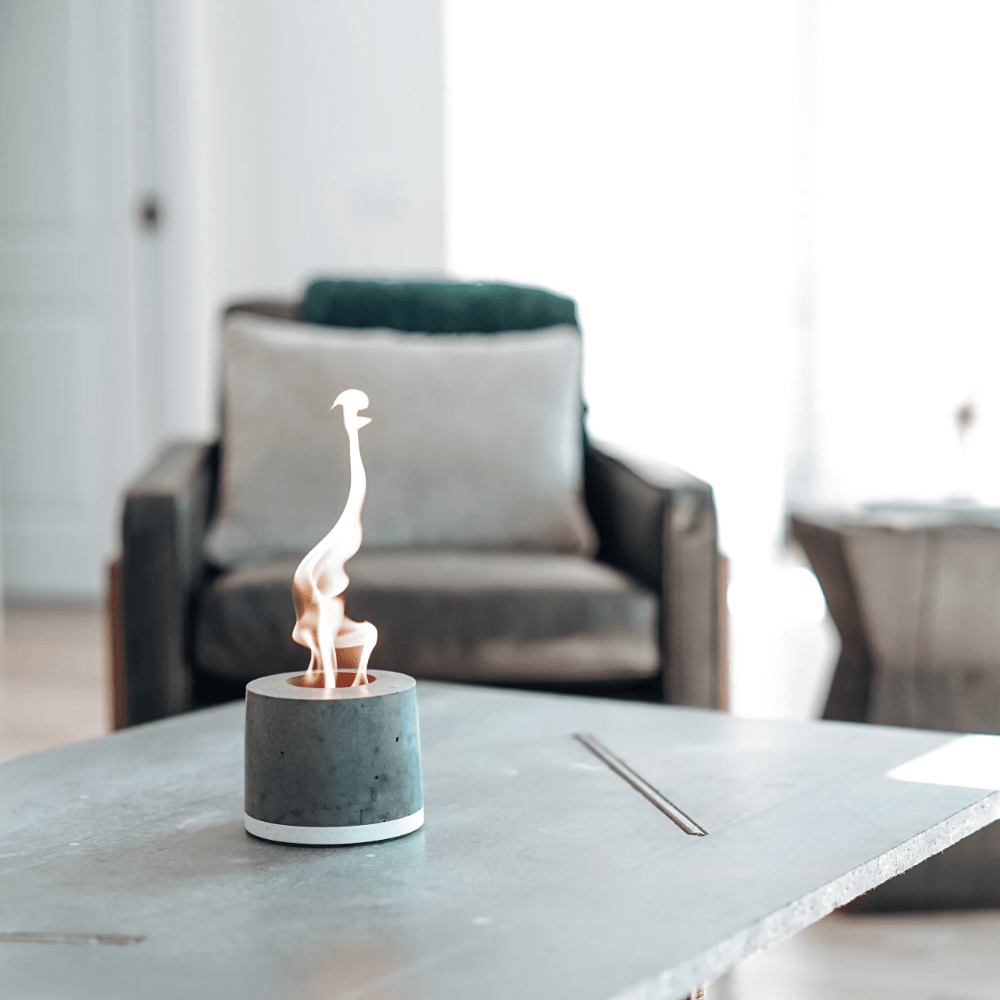 What is a good gift for parents- Personal Concrete Fireplace