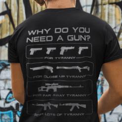Why Do You Need A Gun Tyranny Shirt