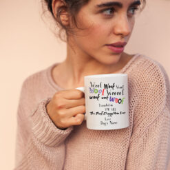 You Are The Best Dog Mom Mug Personalized