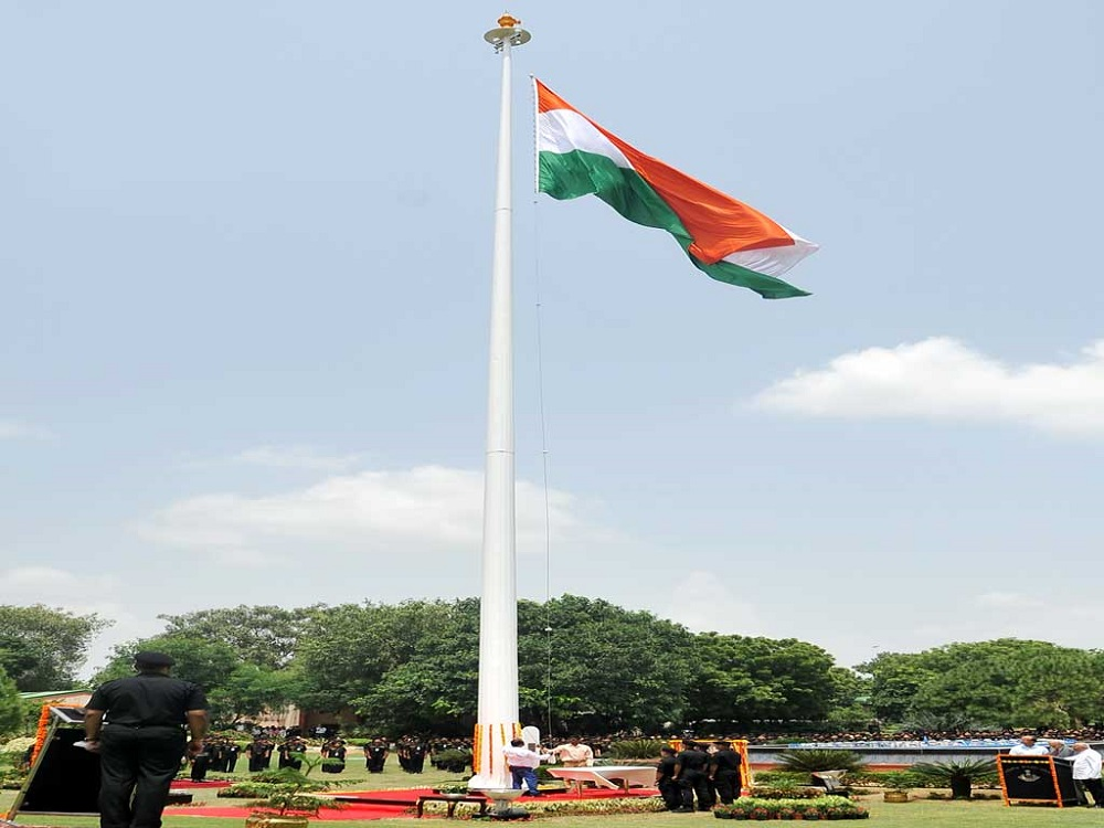 flag raising how Independence Day celebrate in India