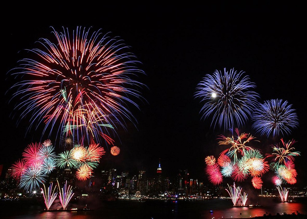 Firework displays - how old is America on 4th of July 2021