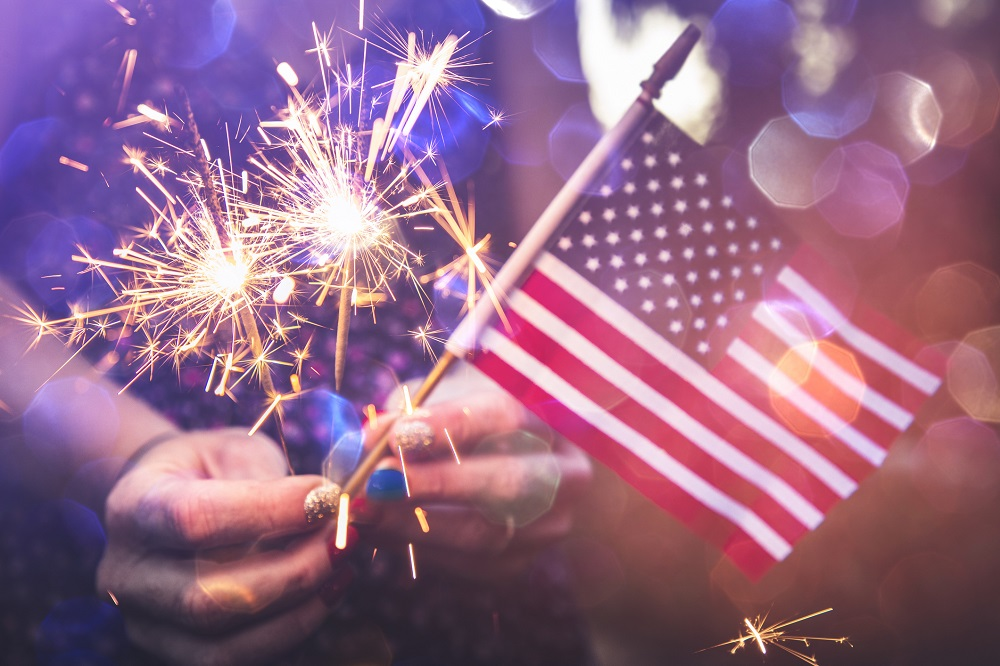 how old is America on 4th of July 2021