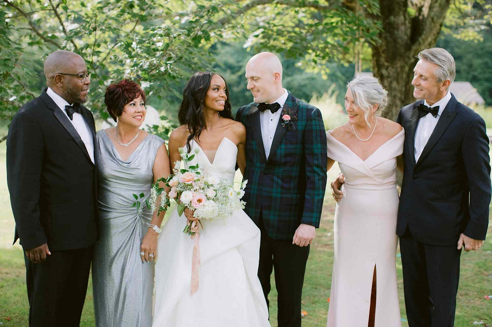 what to get parents on your wedding day