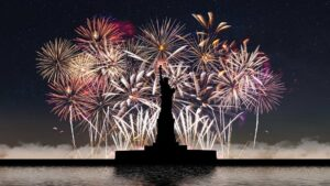 where to watch fireworks on Independence Day in the USA