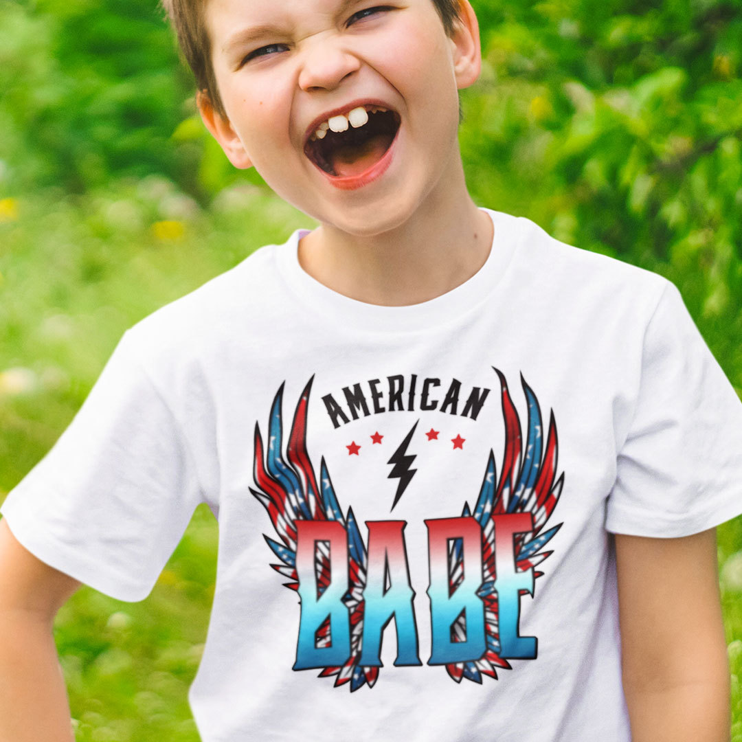 4th of July American Babe Shirt