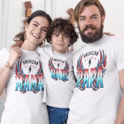 4th of July American PAPA Shirt1