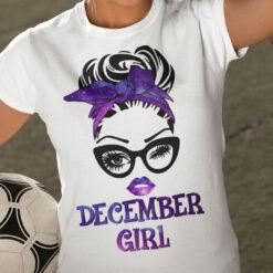 December Birthday Girl T Shirt