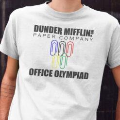 Dunder Mifflin Paper Company Office Olympiad Shirt