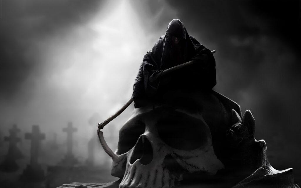 Halloween-themed Phobias - Fear of death