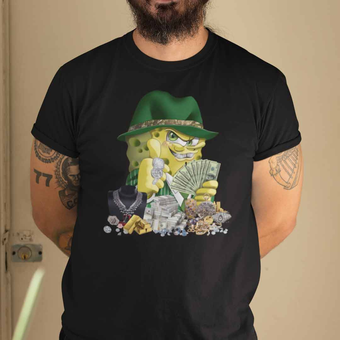 Gangster Spongebob Shirt Who's Your Daddy