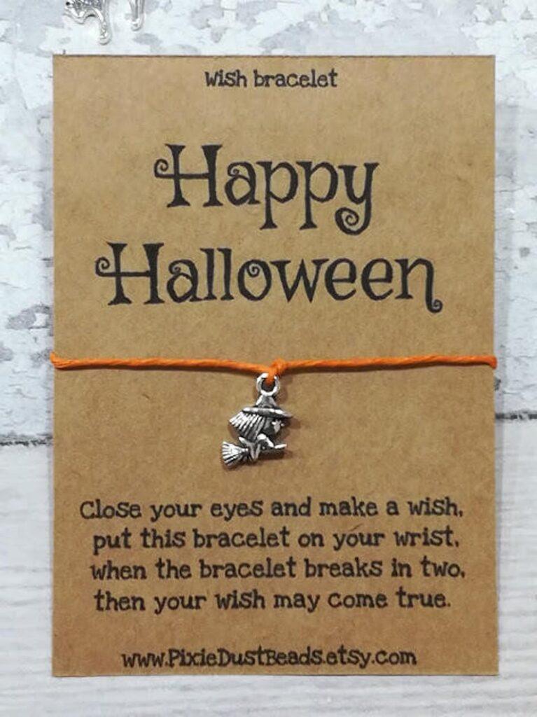 Happy Halloween Wish Bracelet - Best Halloween Gift Under $20