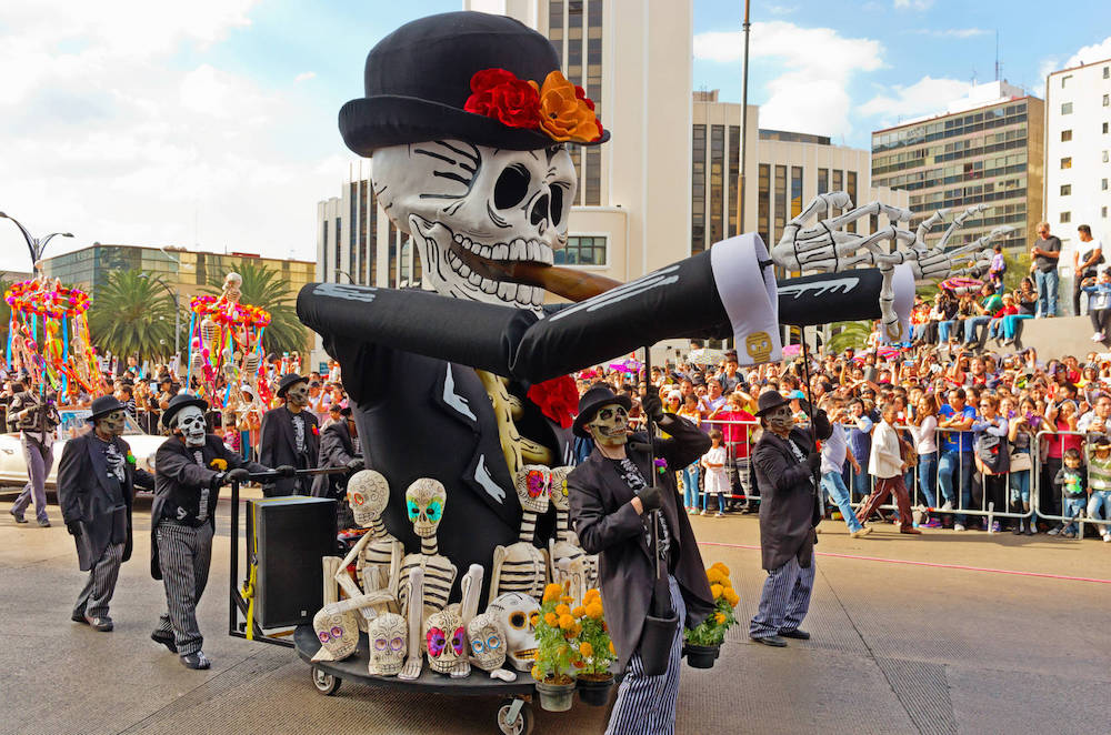 How do we celebrate Halloween in Mexico