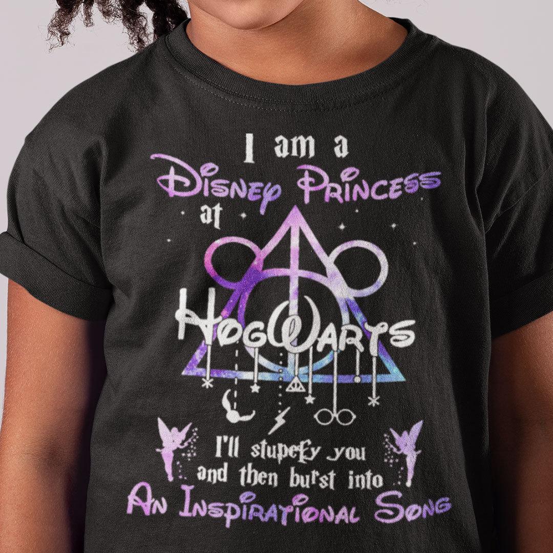 I Am A Princess At Hogwarts Music T Shirt