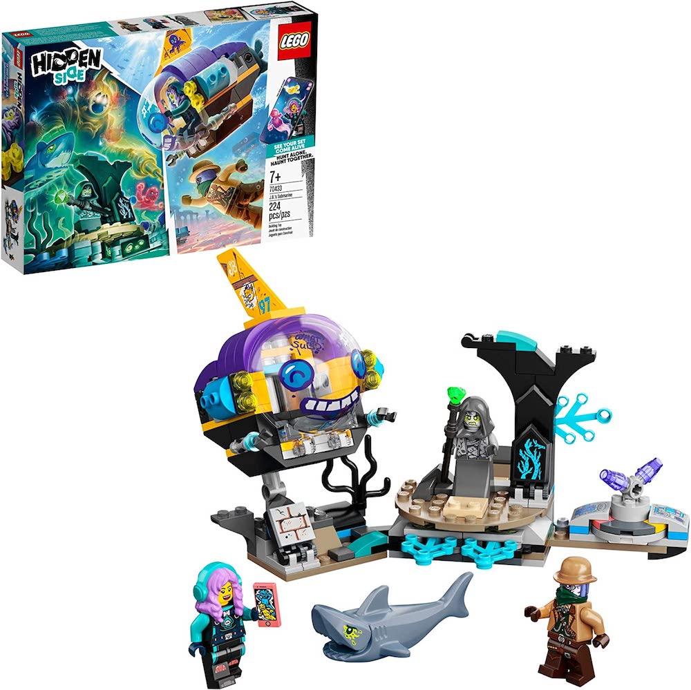 LEGO Hidden Side J.B.'s Submarine- best Halloween gift 2021