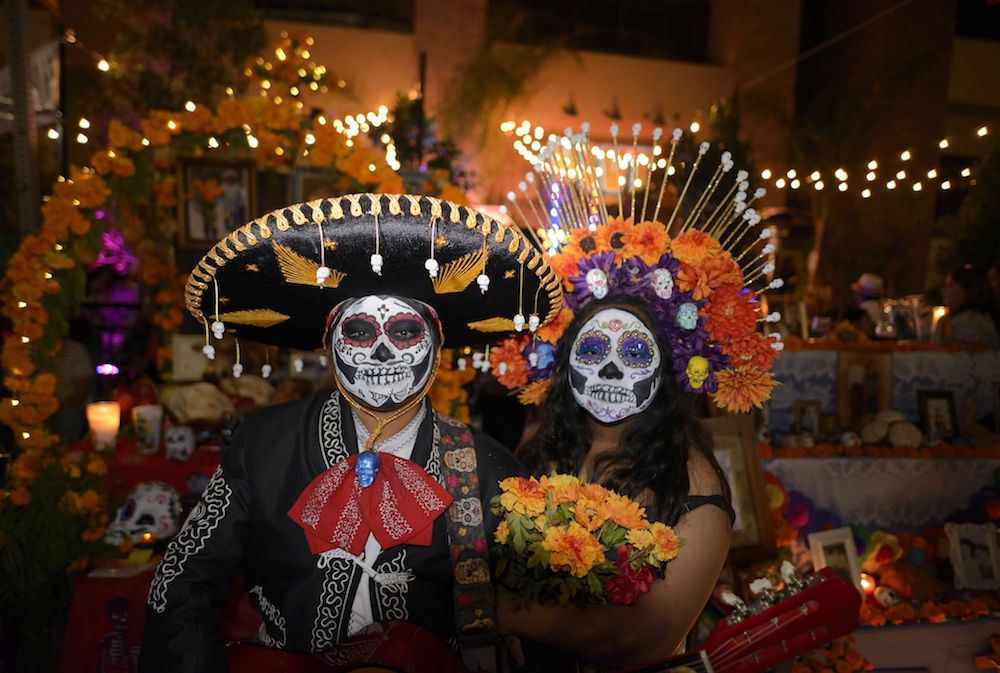 Looking for how do we celebrate Halloween in Mexico