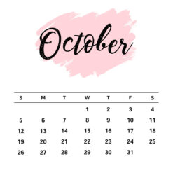 October Birthday Gift