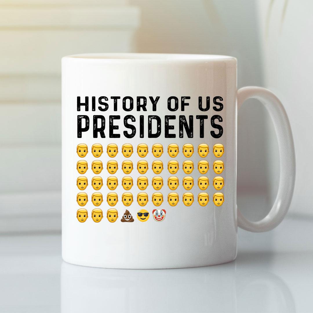 President Clown Joe Biden White Mug