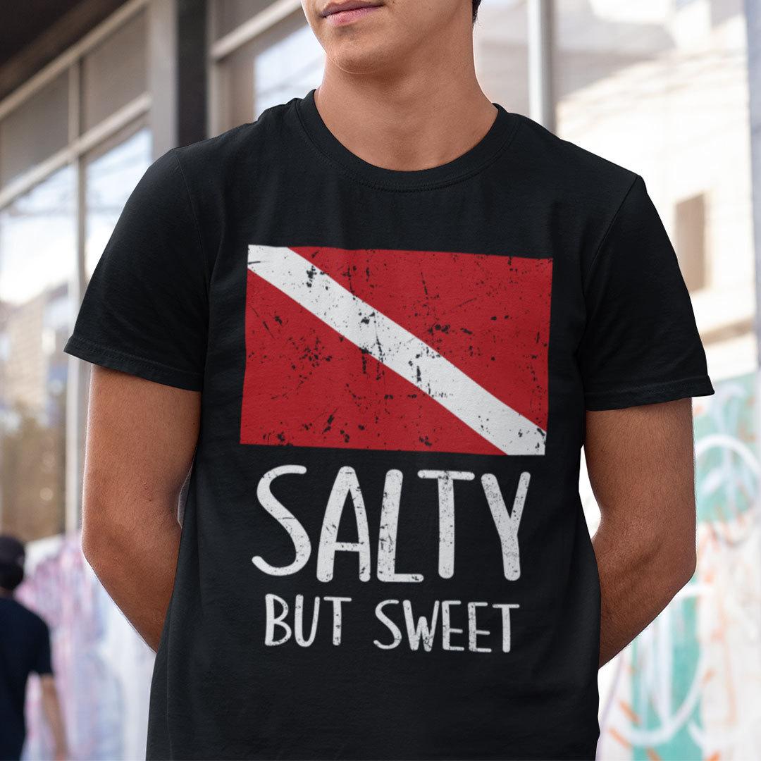 Salty But Sweet Dive Flag Shirt