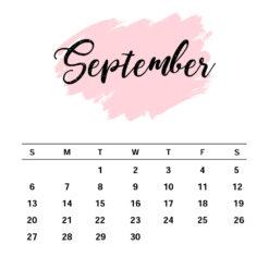 September Birthday Gift