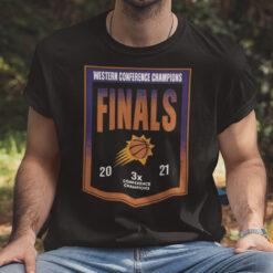 Suns Finals Shirt Western Conference Champion Finals