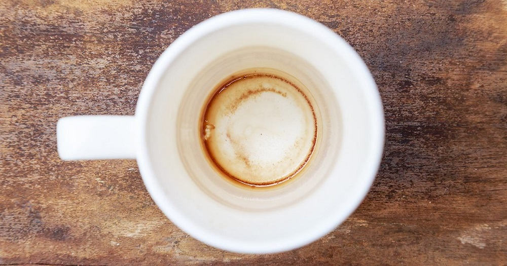 Want to know how to get tea stains out of mug