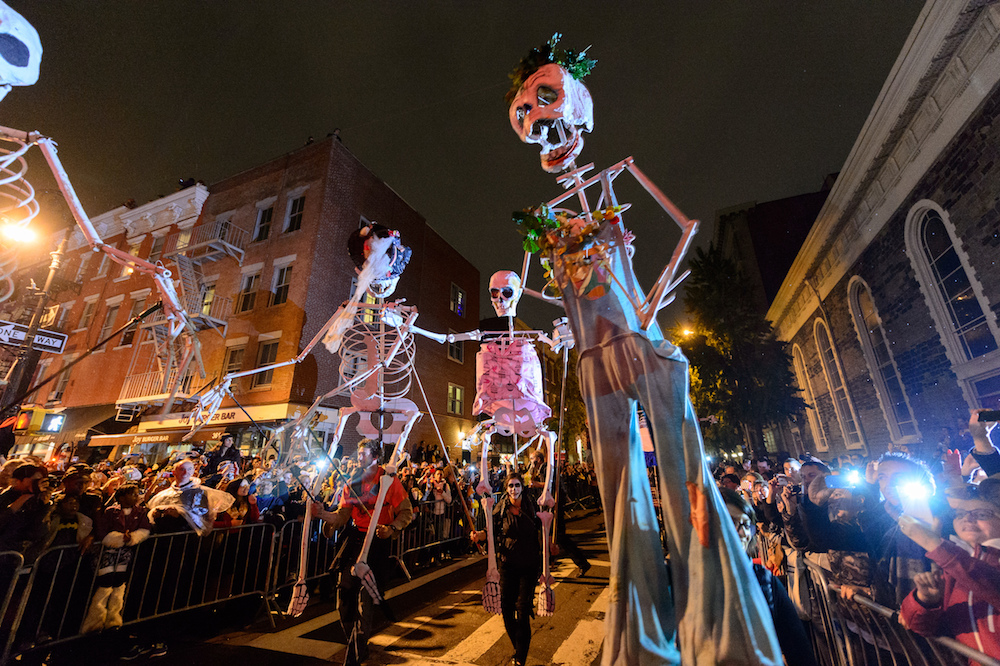 What are traditions on Halloween- Halloween parades