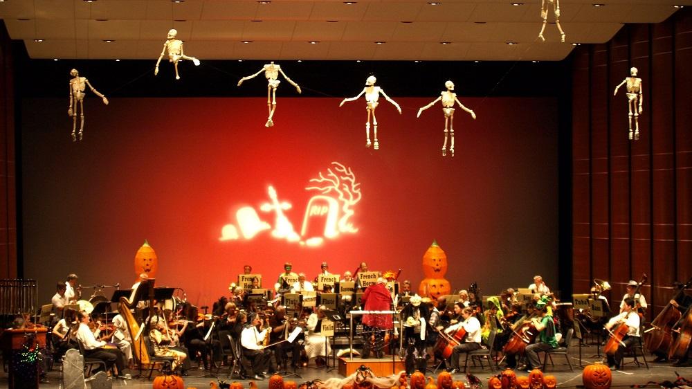Halloween children's concert