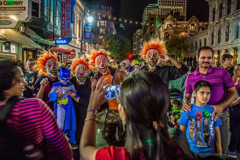 How do we celebrate Halloween in Austin