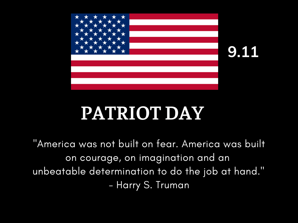 meaningful quotes on Patriot Day